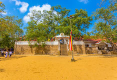 Anuradhapura Jaya Sri Maha Bodhi Tree Field H Στοκ Εικόνα