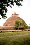 anuradhapura jetavana lanka sri stupa 免版税库存照片