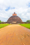 Anuradhapura Jetavanaramaya Dagoba brudu ścieżka V Zdjęcia Stock