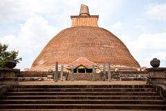 anuradhapura jetavanaramaya lanka sri 库存图片