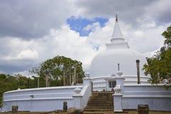 anuradhapura lanka lankaramaya sri 免版税库存照片