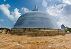 anuradhapura maha ruvanmali stupa 库存图片