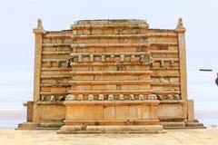 Anuradhapura Mirisawatiya Stupa, arv för Sri Lanka UNESCOvärld Royaltyfria Foton