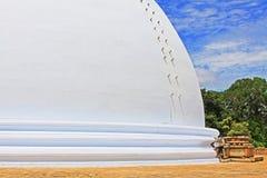 Anuradhapura Mirisawatiya Stupa, patrimônio mundial do UNESCO de Sri Lanka Fotos de Stock Royalty Free
