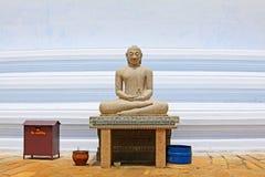 Anuradhapura Mirisawatiya Stupa, patrimônio mundial do UNESCO de Sri Lanka Foto de Stock