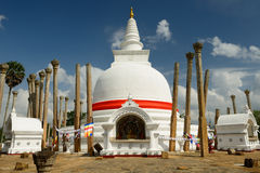 Anuradhapura ruin, Thuparamaya dagoba, Sri Lanka Stock Photography