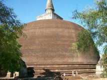 Anuradhapura in Sri Lanka Stock Afbeeldingen