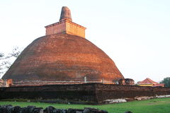 Anuradhapura Sri Lanka. Jethawanaramaya Stupa in Anuradhapura Sri Lanka Royalty Free Stock Images