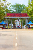 Anuradhapura Sri Maha Bodhi Street Entrance Gate V Stock Photography