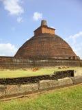 anuradhapura stupa 库存照片