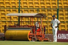 Anureet Singh cricketer. Anureet Singh, Rest of India fast bowler royalty free stock image
