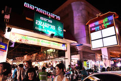 Anusarn market, The best of night market street in Chiangmai ,Thailand opening everyday Stock Photos