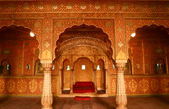 Anuup mahal,Bikaner Stock Photography