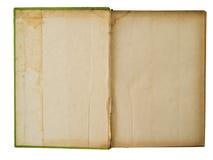 använd bokgrunge som öppnas arkivfoto