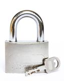 använd padlock Royaltyfria Bilder
