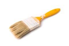 använd paintbrush Arkivfoton