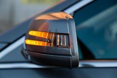 Använd ställning för Mercedes-Benz S-grupp S350 lång (W221) bil på en stree Arkivfoton