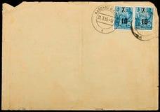 använd tappning för kuvert mailing Royaltyfri Bild