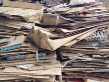 Använda material för återanvändning Arkivbilder