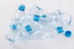 Använda plast- bootles Royaltyfri Fotografi
