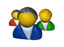 användare Arkivbild