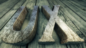 användareerfarenhet för illustration 3D, UX Royaltyfri Fotografi