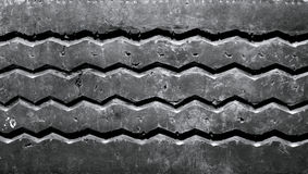 använt bilgummihjul Arkivbild