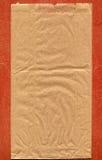 använt brunt gjort papper för påse Royaltyfri Fotografi