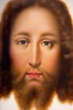 Anvers - le visage du Christ (Vera Effigies) par l'école allemande. du cent 17 en retard. dans la cathédrale de notre Madame photo stock