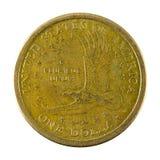 1 anverso de la moneda 2000 del dólar de Estados Unidos fotos de archivo
