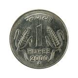 1 anverso de la moneda 2000 de la rupia india imagenes de archivo