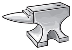 Anvil. Vector illustration,  vector Royalty Free Stock Photo