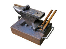 Anvil. Isolated picture of a blacksmith's anvil Stock Photo