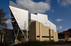 The Anvil, Basingstoke. View of the exterior of Basingstoke's Anvil Concert Hall, Hampshire.  A publicly funded venue for music and other performances.  viewed Royalty Free Stock Photography