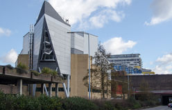 Anvil Concert Hall, Basingstoke. View of the landmark Anvil concert hall in Basingstoke, Hampshire Stock Photography