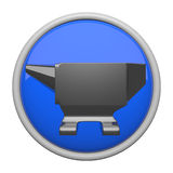 Anvil Icon Royalty Free Stock Photos