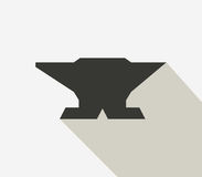 Anvil icon illustrated Stock Images