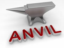 Anvil illustration Stock Image