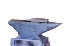 Anvil on a white background Royalty Free Stock Photos