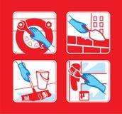 anvisning vektor illustrationer