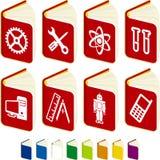 anvisningshandböcker Arkivbild