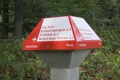 ANWB Verkehrspilz Lizenzfreie Stockfotografie