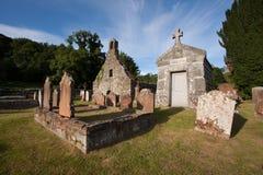 Anwoth gamla kyrka, Dumfries och Galloway, Skottland Arkivfoto