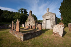 Anwoth Old Church, Dumfries and Galloway, Scotland. Anwoth Old Kirk, Dumfries and Galloway, Scotland is a ruined historic church founded 1626 with Rev Samuel Stock Photo