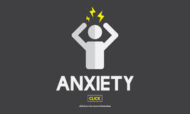 Anxiety Angst Disorder Stress Tension Concept Royalty Free Stock Images