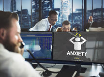 Anxiety Angst Disorder Stress Tension Concept Stock Photography