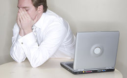 anxiety businessman στοκ εικόνες
