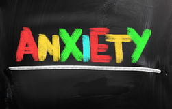 Anxiety Concept Royalty Free Stock Photography