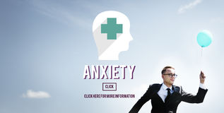 Anxiety Disorder Apprehension Medical Concept Royalty Free Stock Images