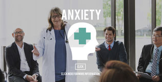 Anxiety Disorder Apprehension Medical Concept Stock Image